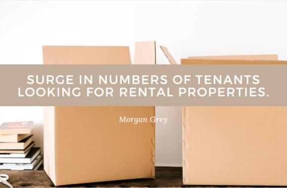increase in tenats